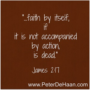 Can an Actionless Faith Save You?
