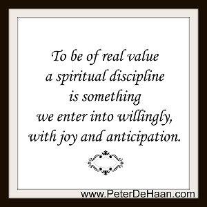 What Are Spiritual Disciplines?