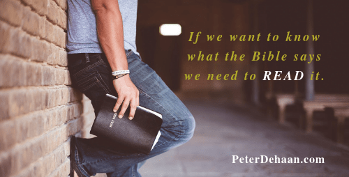 How to Learn about the Bible