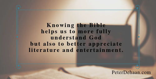 Read the Bible as Literature