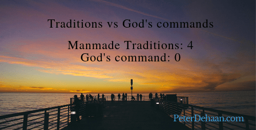 Do We Ever Place Our Traditions Over God's Commands?