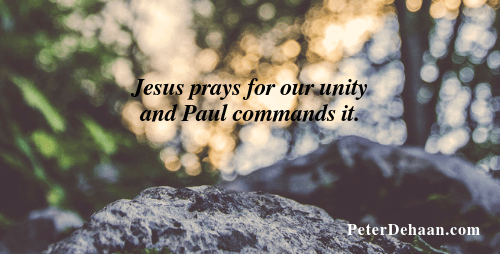 As Followers of Jesus We Need to Live in Harmony