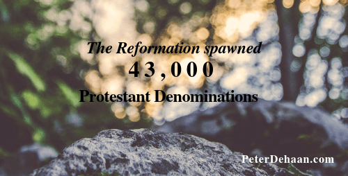 The Downside of the Protestant Reformation