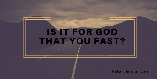 Why Do You Fast?