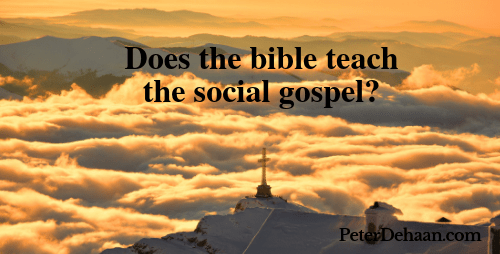 Should We Embrace a Social Gospel?