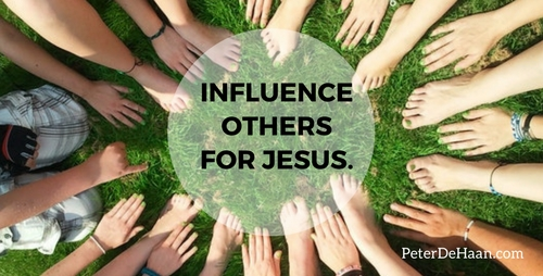 We Should Live Our Lives to Influence Others