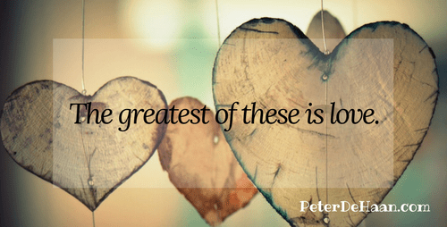 Love Is the Greatest Command