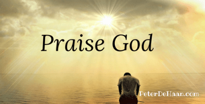 God Is Worthy of Our Praise