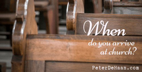 Why Do People Show Up Late for Church?