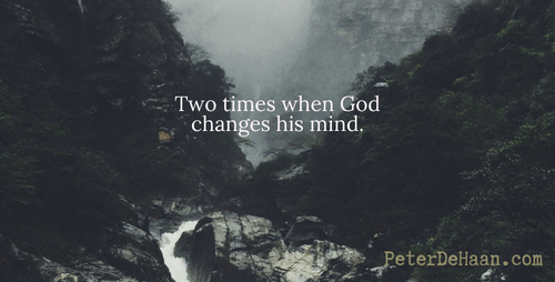 Can We Cause God To Change His Mind?