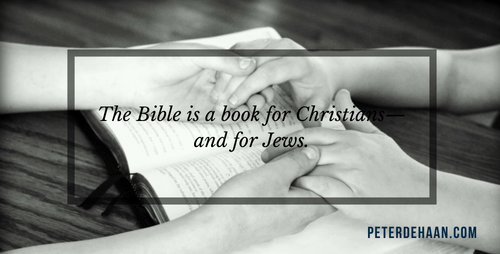 The Bible Isn't a Christian Book
