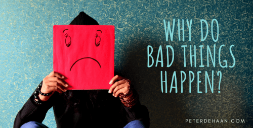 How Often Do We Blame God When Bad Things Happen?