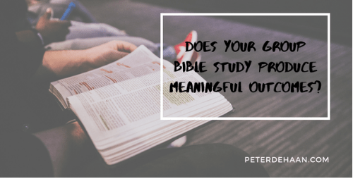 The Benefits of Group Bible Study