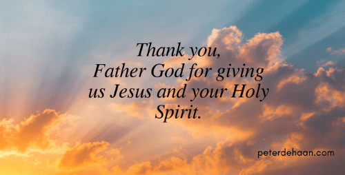 God's Sends Us a Gift on Pentecost