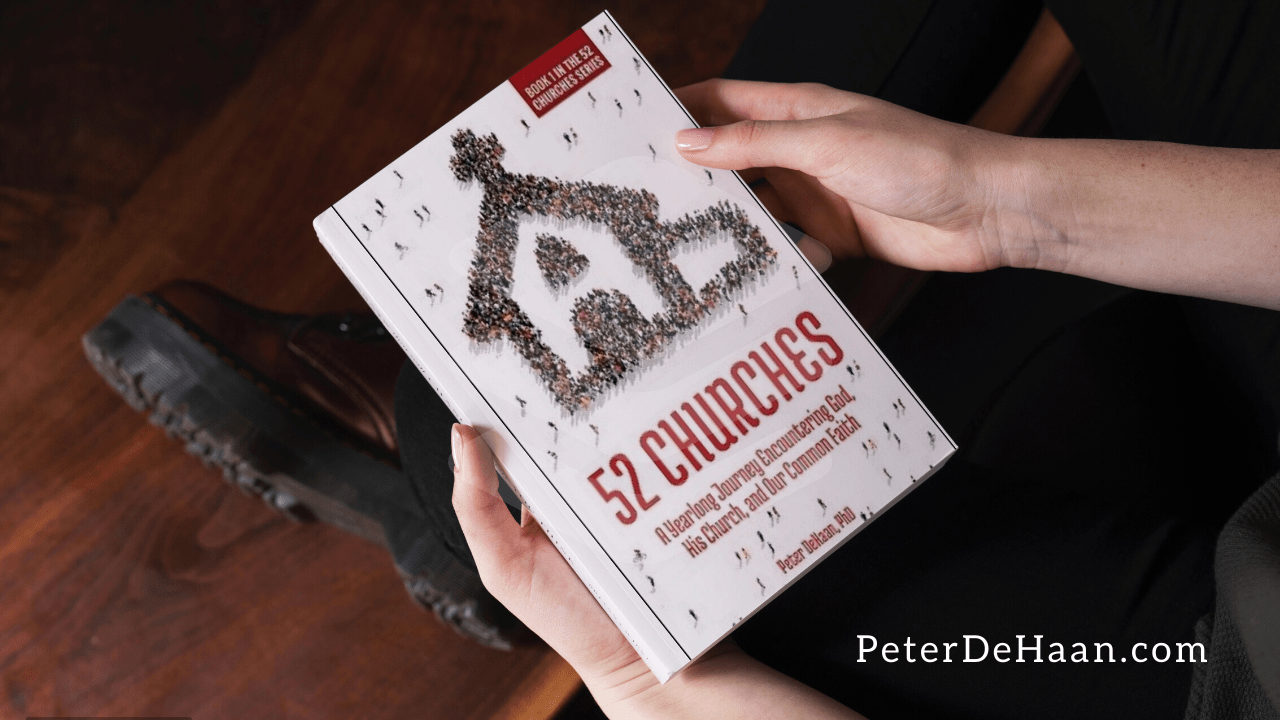 Book Release: 52 Churches: A Yearlong Journey Encountering God, His Church, and Our Common Faith