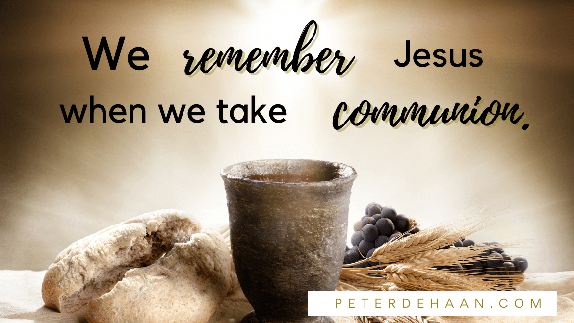 Bible Verses about Communion
