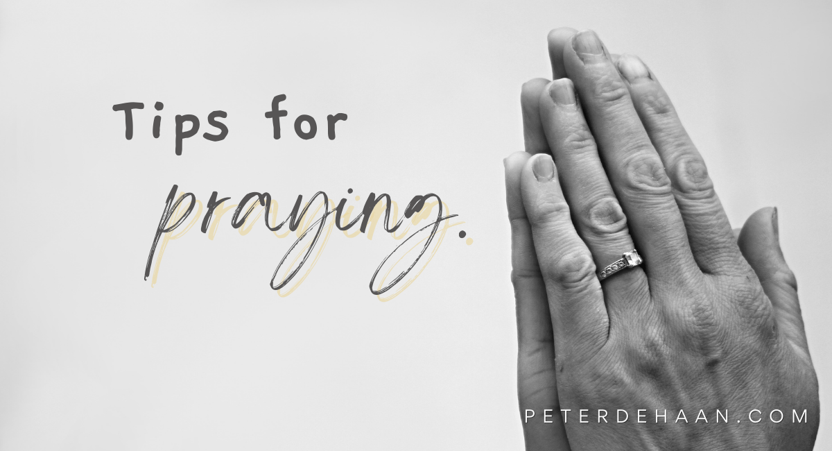 Let Us Pray: Fold Your Hands, Close Your Eyes, and Bow Your Head