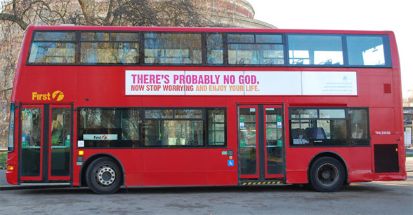 """There's Probably No God"" bus"
