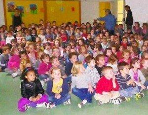 Spectacle scolaire en maternelle