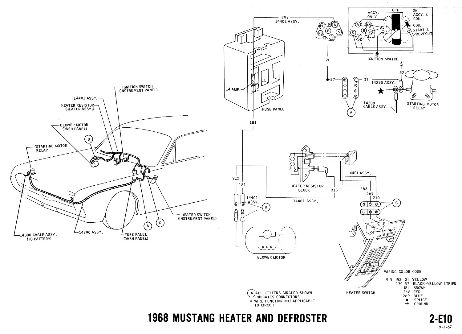 1968 mustang convertible top switch wiring diagram 1968