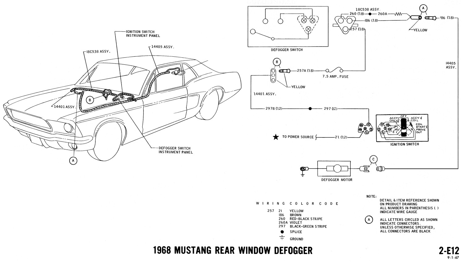 1968 cadillac deville wiring diagram    1968    mustang    wiring    diagrams evolving software     1968    mustang    wiring    diagrams evolving software