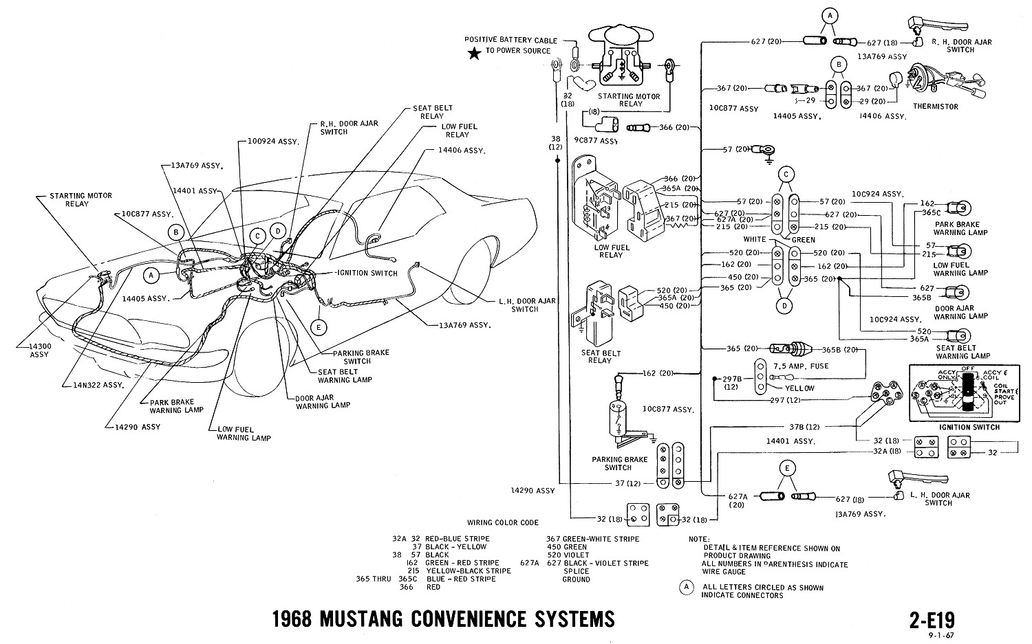 67 Mustang Fog Light Wiring Schematic Wiring Diagram