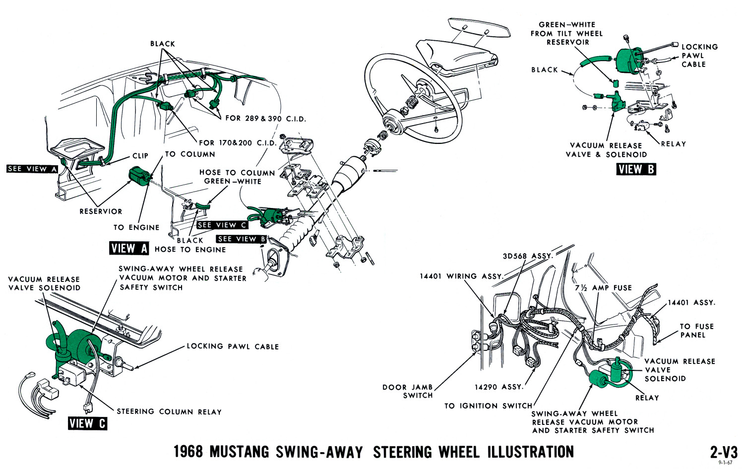 1968 Mustang Vacuum Diagrams : Evolving Software