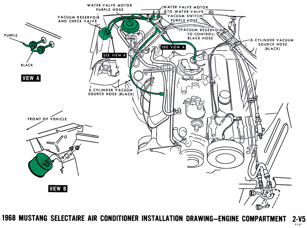 1968 Mustang Vacuum Diagrams   Evolving Software