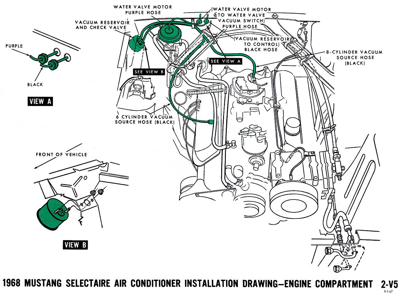 mustang vacuum diagrams and schematics vacuum diagrams table of 4.6 Cobra Engine