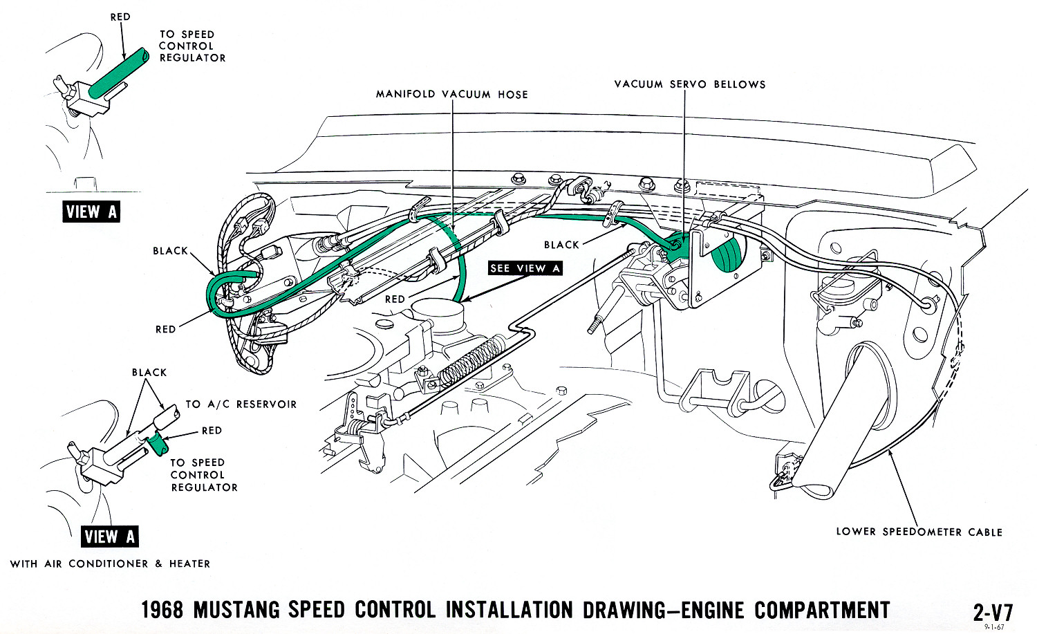 Mustang Vacuum Diagrams