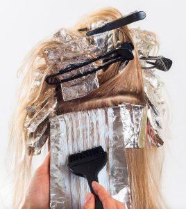 hairdressing on progress