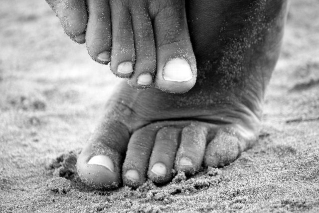 square toe sand