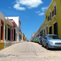 Walking around Campeche