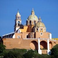 Iglesia de Nuestra Señora de los Remedios and the Great Pyramid of Cholula