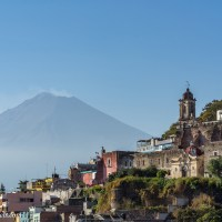 Popocatépetl and Atlixco