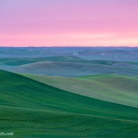 Pink Palouse Sunset