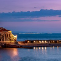Dawn in Collioure