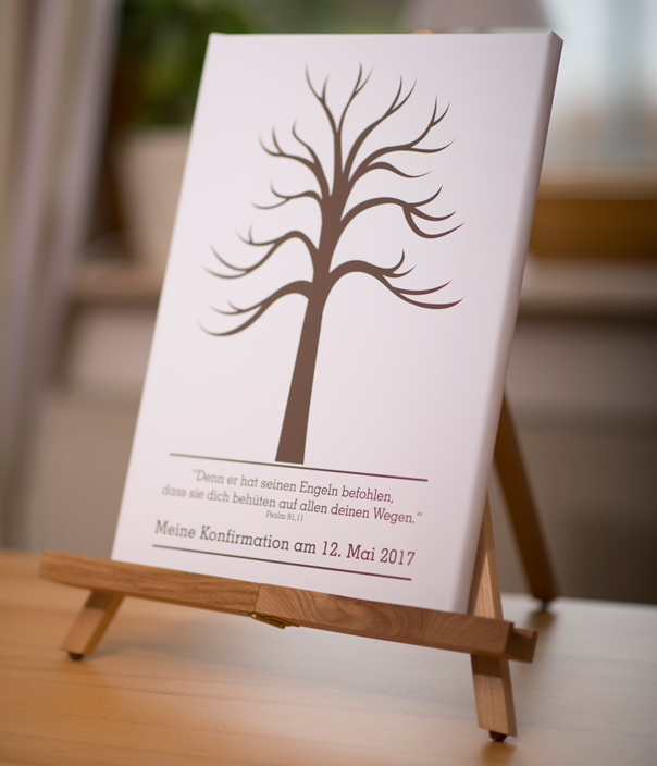 wedding tree psalm gaestebaum fingerabdruck gaestebuch