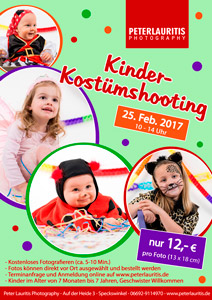 Kinder Kostüm Shooting