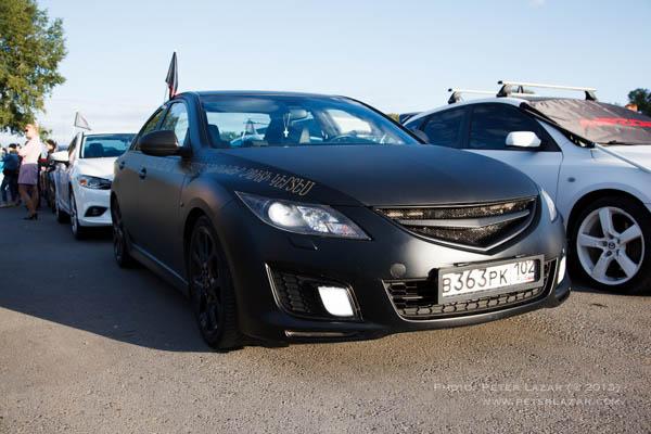 Matt fekete Mazda6