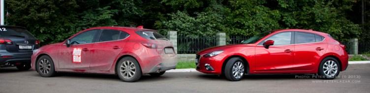 1-es és 8-as autók Ufa határában
