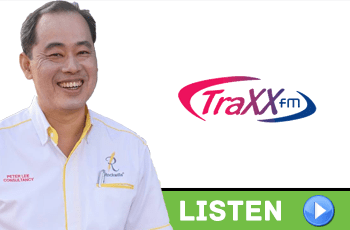 Peter Lee on TrxxFM