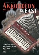 Titelbild Akkordeon Go East von Peter M Haas
