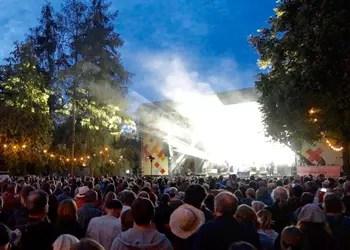 Festival-Atmosphäre in Rudolstadt