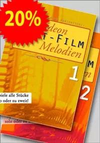 """20 Prozent Rabatt für zwei Bände """"KULT-Film-Melodien"""""""