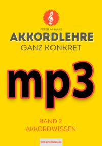 mp3-Dateien zu Akkordlehre ganz konkret