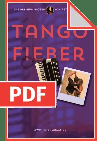 Cover Tango Fieber von Peter M. Haas