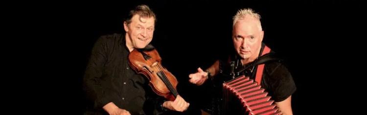 Portrait der Musiker Andrej Sur und Peter M.Haas