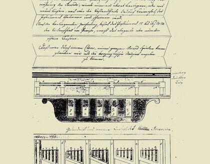Patentschrift für das Accordion