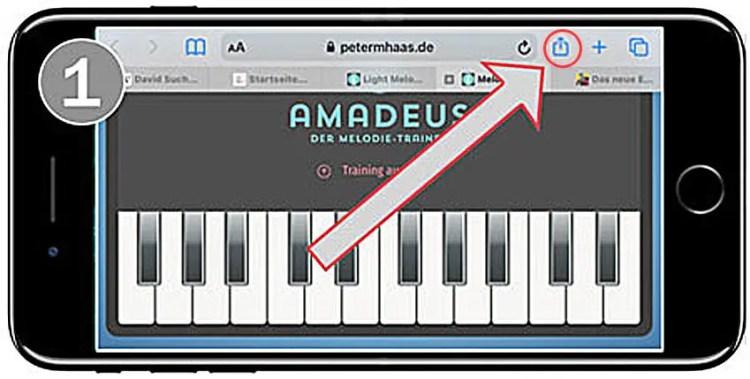 Ear-Trainer-Keyboard-AMADEUS-auf-dem-Smartphone-Bild-1